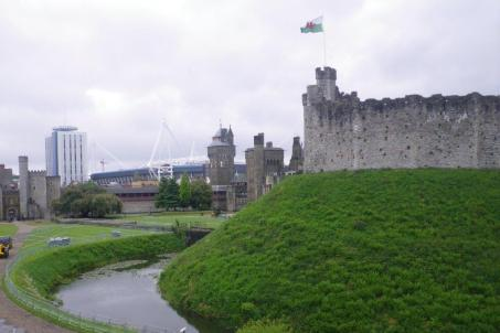 0531 Cardiff Castle 1 keep
