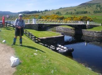 0612 Fort William to Spean Bridge 9 Moy Swing bridge