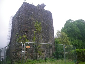 0704 Kilmun 11 Old tower Mortsafe
