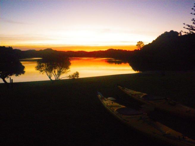 Whanaki sunset
