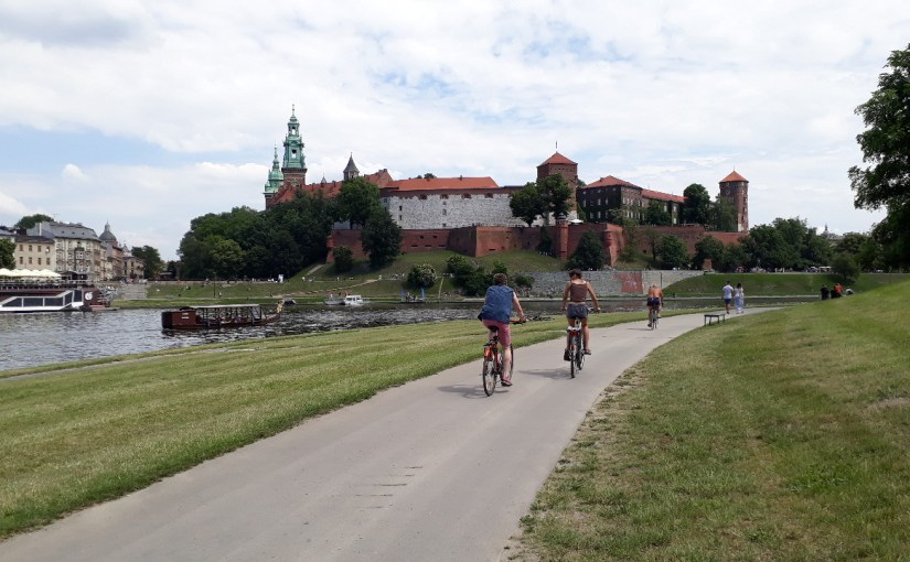 Biking around Krakow