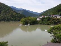 Kumano Kodo day 8 Totsekawa rive