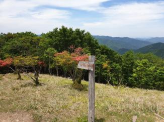 Kumano Kodo day 9 view from summit