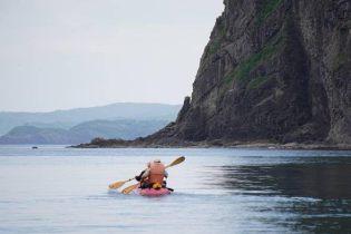 Yoichi - kayak departure 2