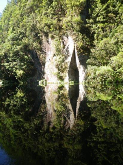 Mangakino Creek reflections 4