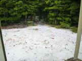 Richmond Range D2 Old Man Hut hail