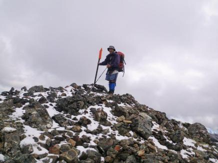 Richmond Range D3 Mt Rintoul Summit John