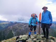 Richmond Range D3 Mt Rintoul summit