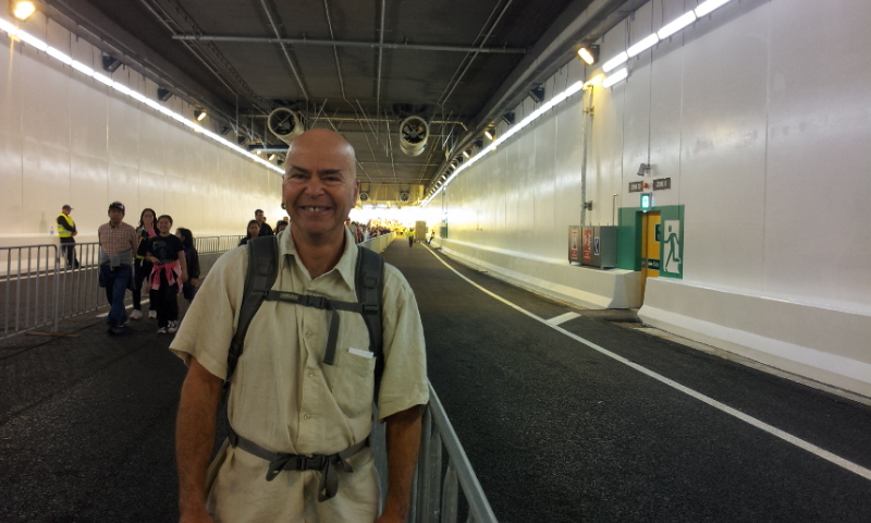 Victoria Park Tunnel walk
