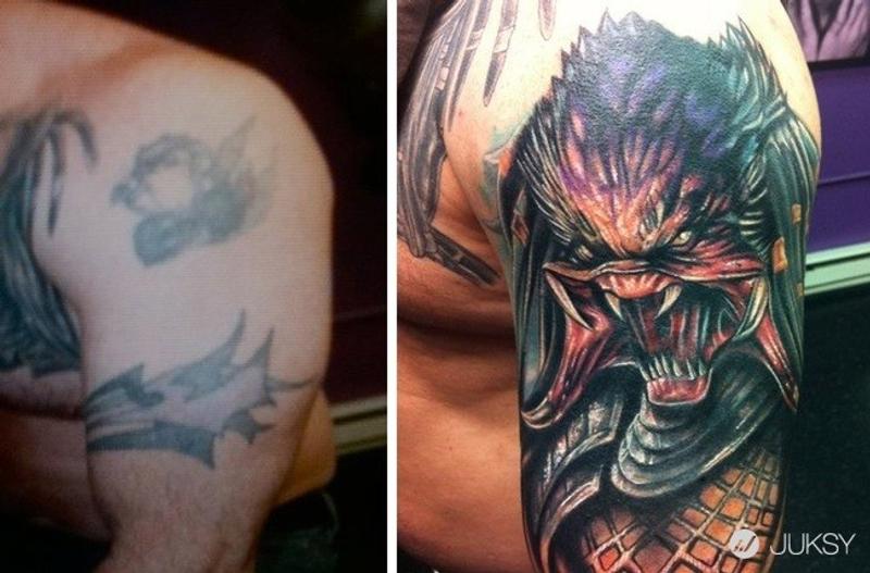 刺青刺壞就沒救了?這些刺青師的「覆蓋藝術」將讓你再次相信魔法的存在... - JUKSY 街星