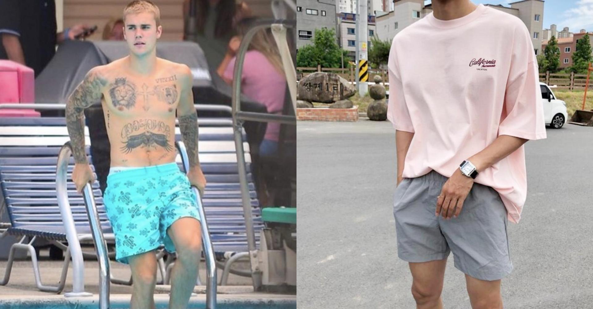 夏天就是要穿短褲!韓系型男都在穿的「尼龍短褲」三招搭法大公開 - JUKSY 街星