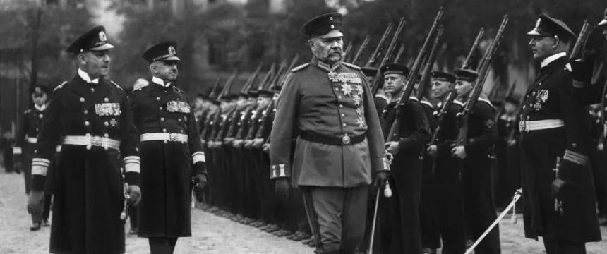 Paul von Hindenburg in Kiel: Aus dem Stadtbild entfernt Foto: picture alliance