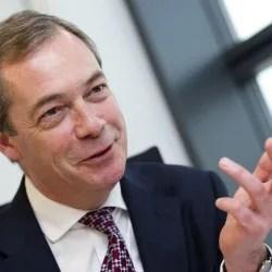 Nigel Farage: UKIP stärkste Partei Foto:  picture alliance/abaca