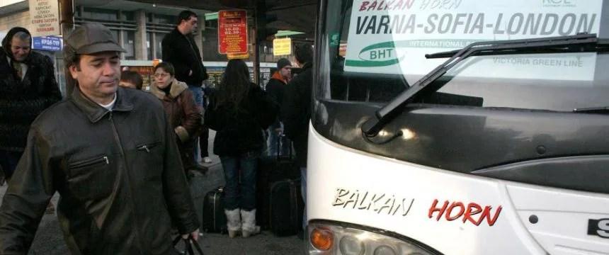 Bulgaren auf dem Weg nach Großbritannien: BBC gibt geschönte Berichterstattung zu Foto: picture alliance / AP Photo