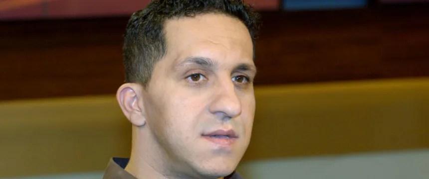 Fadi Saad bei einem Fernseh-Auftritt: Mit 35 zur Polizei Foto: dpa