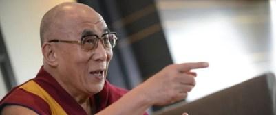 Tenzin Gyatso: Der 14. Dalai Lama warnt vor der Aufnahme zu vieler Asylsuchender Foto: dpa