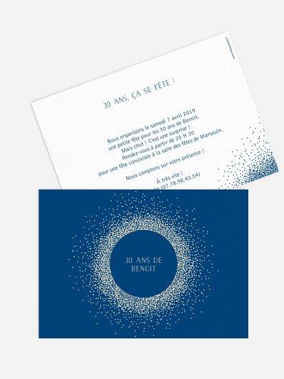 cartes d invitation anniversaire d