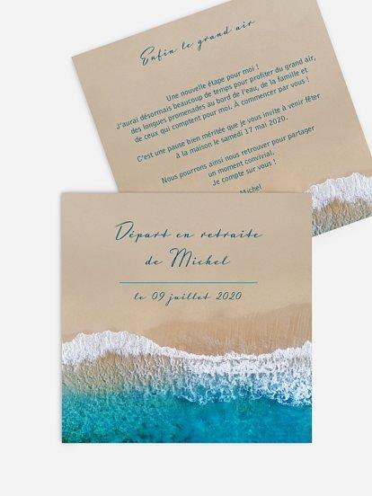 carte invitation retraite gratuite