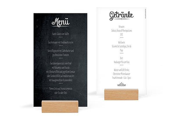 Menkarte Hochzeit Tafel
