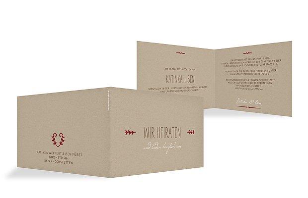 Hochzeitskarten Individuelle Karten zur Hochzeit