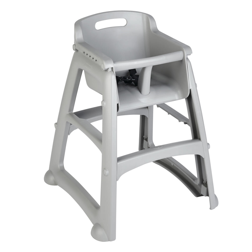 Rubbermaid FG781408PLAT 2975 Stackable High Chair w