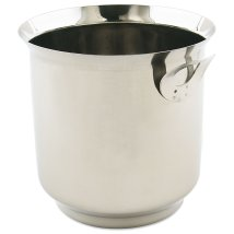 """Browne 571525 Ice Bucket 6 1 4""""high Stainless Steel"""