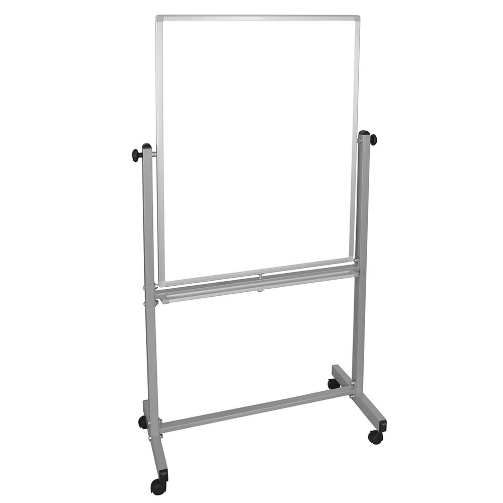 Luxor Furniture MB3040WW Reversible Magnetic Whiteboard w