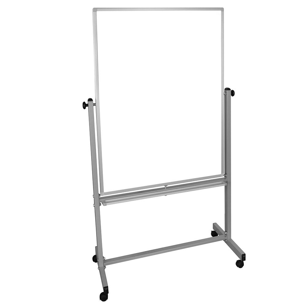 Luxor Furniture MB3648WW Reversible Magnetic Whiteboard w