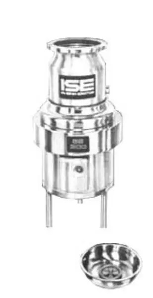 InSinkErator SS-300-12C-MS Complete Disposer Package, 3 HP