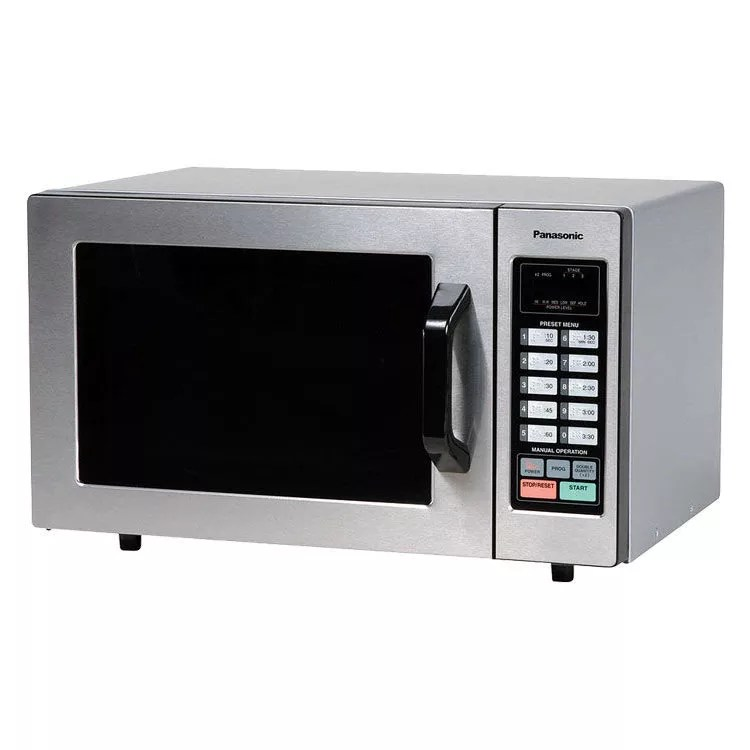 panasonic ne 1054f 1000w commercial microwave with touch pad 120v
