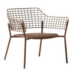 Steel Lounge Chair Yoga Ball Benefits Emu 617 28 5 Lyze W Stainless Back Aluminum 185 617cc Jpg
