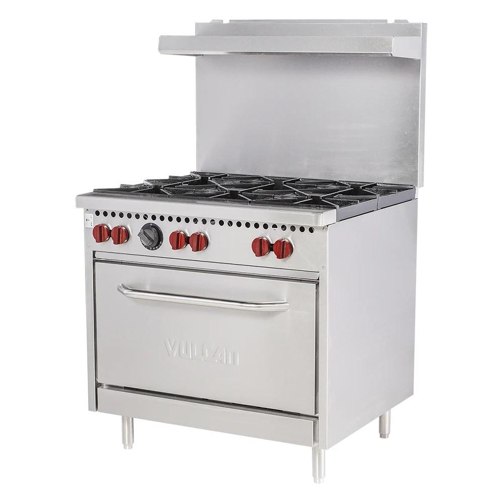 vulcan kitchen countertops sx36 6b 36 6 burner gas range w standard oven ng 207 sx366bng jpg