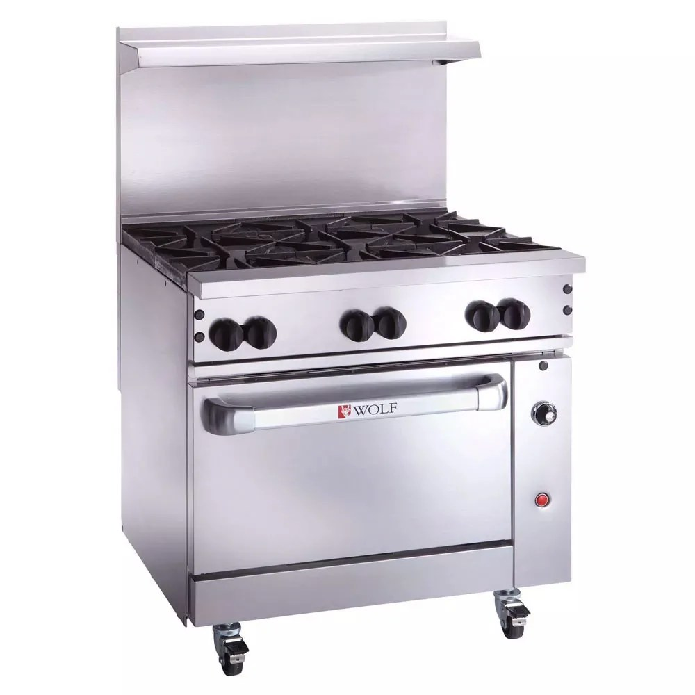 Cucina A Gas Wolf By Billupsforcongress 6 Burner Gas Stove With Oven