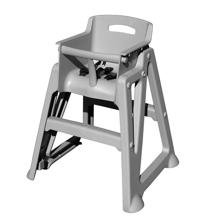 high end chair how to build a lifeguard update pp hc gr 29 stackable w waist strap plastic 370 pphcgr jpg