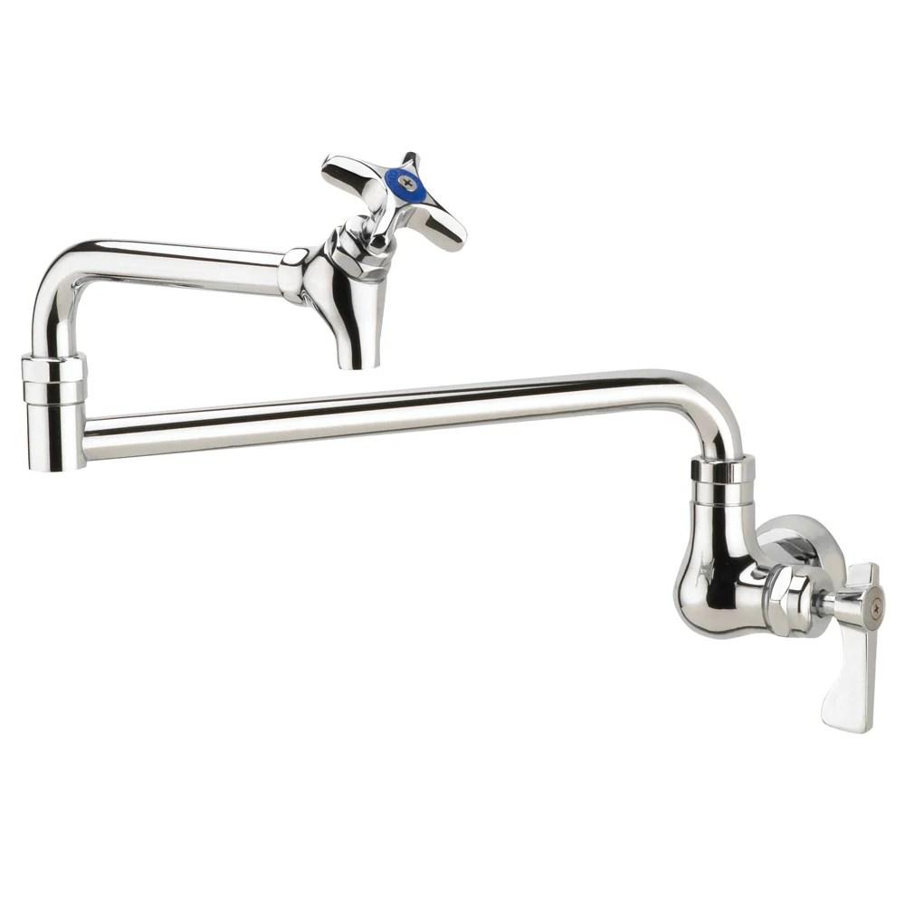 Krowne 16-181L Royal Series Wall Mount Pot Filler Faucet w