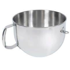Kitchen Aid Bowls Pine Chairs For Sale Kitchenaid Kn2b6peh Stainless Steel Bowl W Handle 6 Qt Stand Mixers
