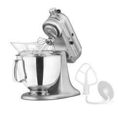 Kitchen Aid Silver Broan Exhaust Fans Kitchenaid Ksm150pssm 10 Speed Stand Mixer W 5 Qt Stainless Bowl Accessories Metallic 449 Jpg
