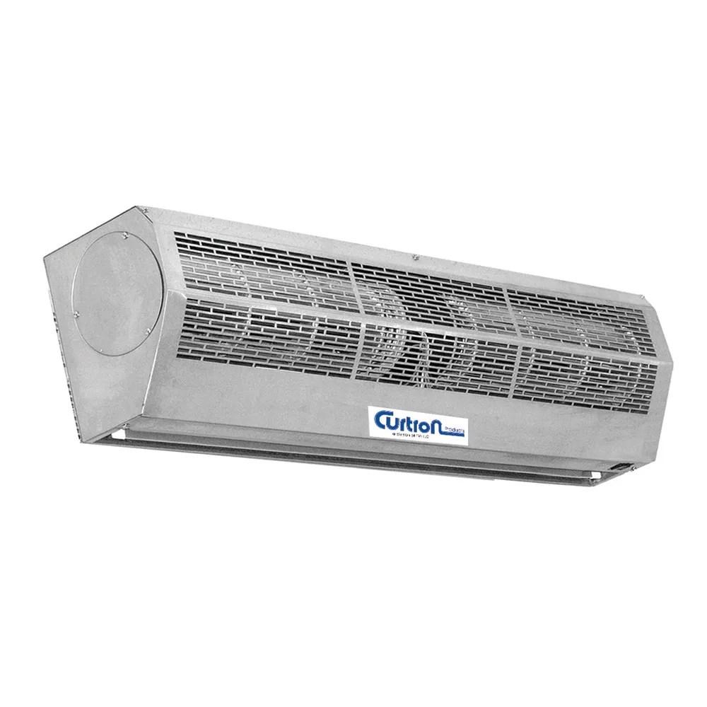 curtron ap 2 36 1 ss 36 unheated air curtain 2 speed stainless 120v