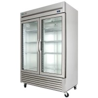 """True T-49G-HC~FGD01 54"""" Two Section Reach-In Refrigerator ..."""
