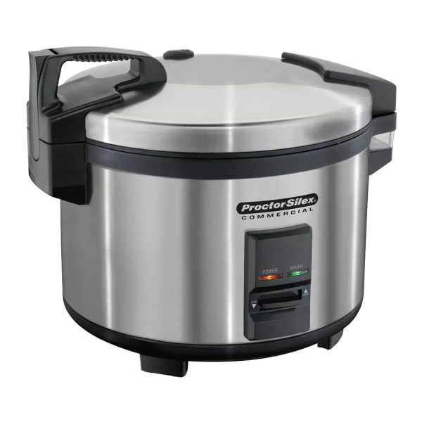 Proctor Silex 37540 40 Cup Rice Cooker With Auto Cook & Hold 120v