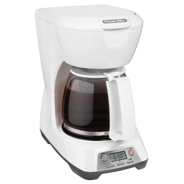 Proctor Silex 43671 12 Cup Coffee Maker With Glass Carafe