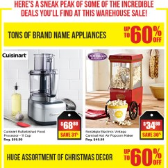 Kitchen Stuff On Sale Replace Countertop Ourmoment Warehouse Next Weekend Plus Home