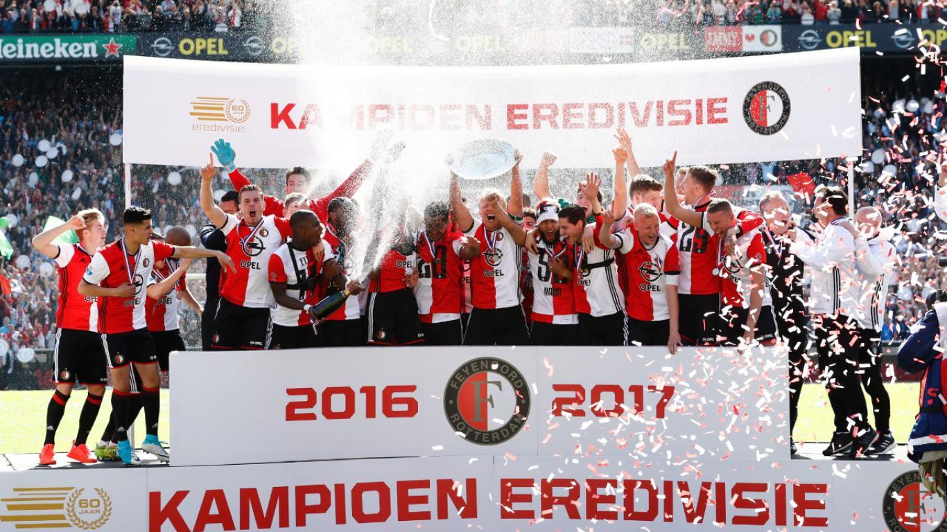 Image result for feyenoord landskampioen 2017