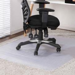 Ergonomic Chair Kogan Rolling Desk New Ovela Mat For Carpeted Floors 135 X 114cm Office