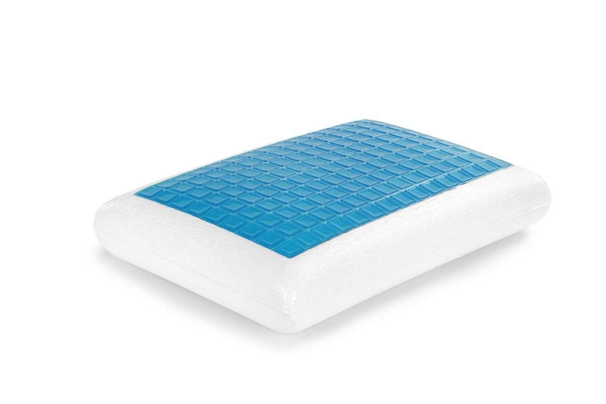 ovela cooling gel top memory foam pillow
