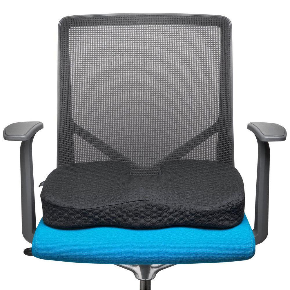kensington premium cool gel memory foam seat pillow chair cushion f home office