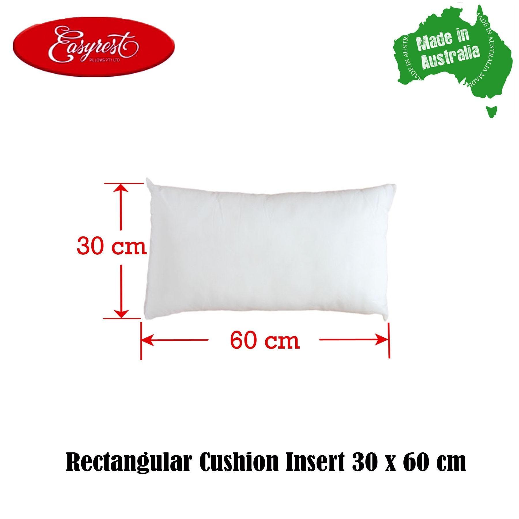cushion insert rectangular 30 x 60cm