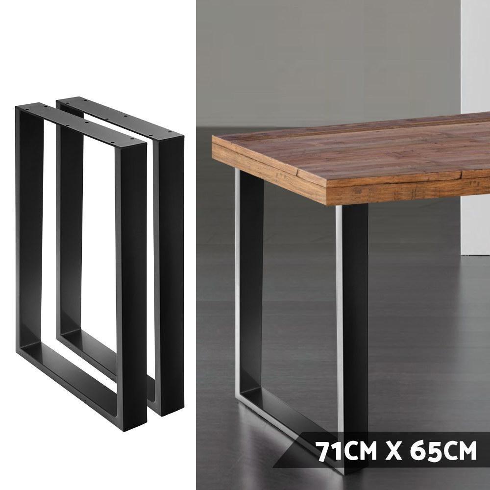 artiss table legs dining table coffee table metal table legs 65cm l x 71cm h trunks chests