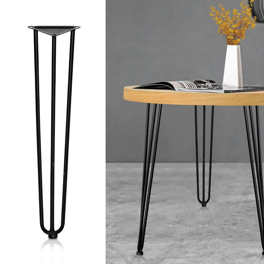 artiss table legs dining table coffee table metal table legs 73cm height