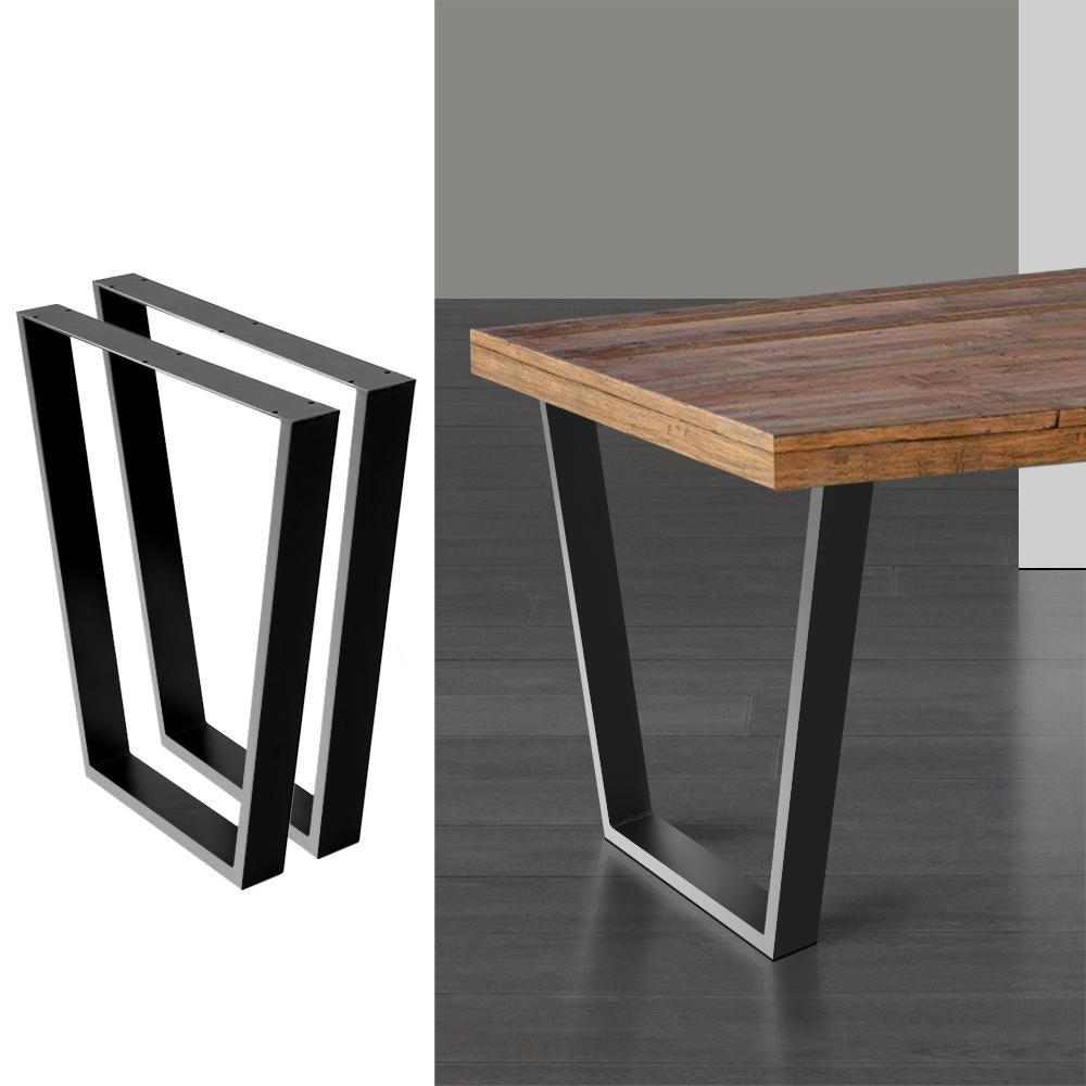 artiss table legs dining table coffee table metal table legs 65 40cm l x 71cm h
